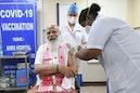 Covid19 Vaccination: Covaxin-র প্রথম ডোজ পেলেন প্রধানমন্ত্রী নরেন্দ্র মোদি