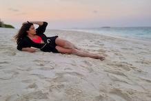 Ankush-Oindrila in Maldives: শরীরী আবেদনে মাত করছেন ঐন্দ্রিলা, অন্তর্বাসে ধরা দিলেন নায়িকা