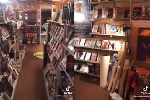 বাড়ির বেসমেন্ট ফিরিয়েছে নব্বই দশকের স্মৃতি, কোয়ারান্টিনে DVD ভাড়া দেওয়ার দোকান খুললেন ব্যক্তি