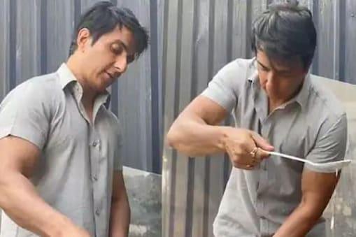 Viral Video: সেটে এসে শ্যুট নয়, ধোসা বানিয়ে খাচ্ছেন সোনু! দেখুন ভিডিও