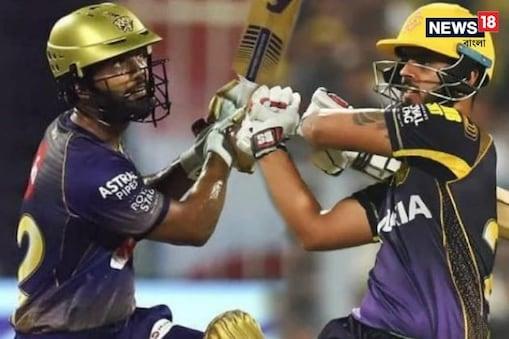 IPL 2021: তরুণ নীতিশ রাণা ও রাহুল ত্রিপাঠী-র ব্যাট সফল, স্বপ্ন দেখতেই পারে কেকেআর