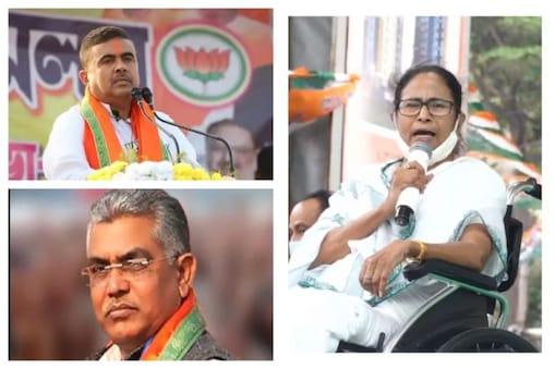 Mamata Banerjee: মমতায় কড়া কমিশন, শুভেন্দু-দিলীপ-সায়ন্তনদের কেন ছাড়? প্রশ্ন তৃণমূলের