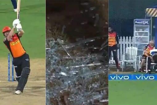 IPL 2021: Jonny Bairstow-র ছক্কায় ভাঙল ফ্রিজের কাঁচ, অল্পের জন্য বাঁচলেন সানরাইজার্সের ক্রিকেটার