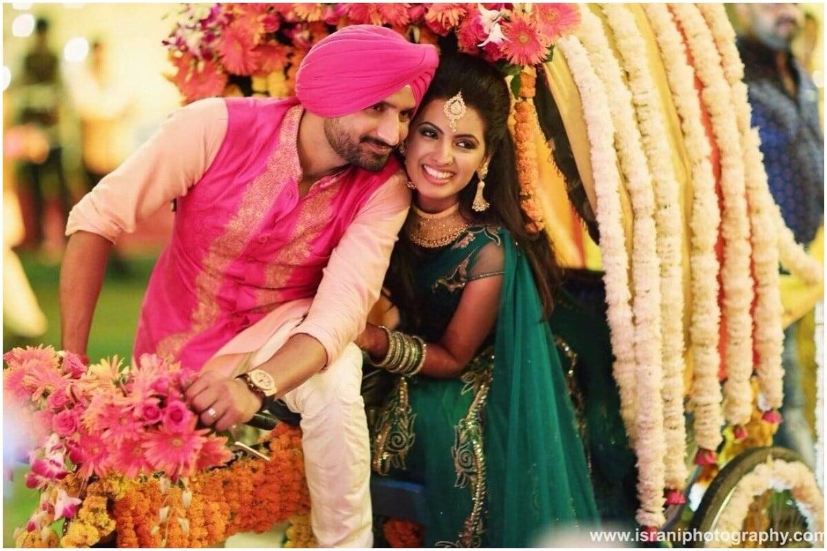 ২০১৫ সালে বিয়ে হয় হরভজন সিং ও গীতা বসরার। গীতা শেষবার ২০১৬ সালে পাঞ্জাবি সিনেমায় অভিনয় করেছিলেন। (Geeta Basra/Instagram)
