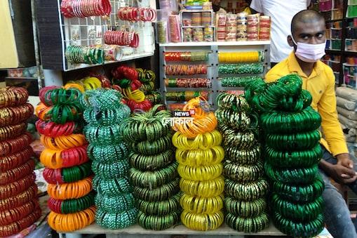 করোনার থাবায় 'শ্রাবণের' মেঘ চুড়ি ব্যবসায়ীদের মুখে, লোকসানের আশঙ্কা