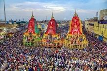 Rath Yatra 2021: ৮৩২ টুকরো কাঠ দিয়ে তৈরি, ৪৫ ফুট উঁচু! ১৬ চাকার রথে চেপে মাসির বাড়ি যান পুরীর জগন্নাথ