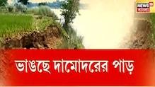Purba Bardhaman-এ দামোদরে ভাঙন, নদীগর্ভে বিঘার পর বিঘা চাষের জমি