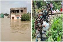 Khanakul Situation : এখনও জলের তলায় খানাকুল! গ্রামে গ্রামে চিড়ে, গুড়, বিস্কুট নিয়ে সেনাবাহিনীর জওয়ানরা...