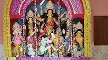 বীরভূমেরমহঃবাজারে দেবী দুর্গার পাহারায় থাকেন ভদ্রা