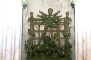 পুঁজি শুধু বাড়িভাড়া, উত্তর কলকাতার ১২০ বছরের বনেদি বাড়ির পুজো আজ বন্ধের মুখে