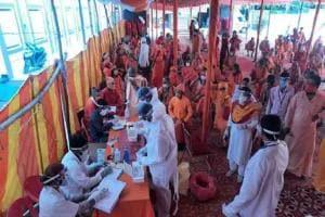 MahaKumbh in Corona: কুম্ভের ২০০জন সাধুর করোনা রিপোর্ট আসবে আজ, বিকেল ৫টায় মুখ্যমন্ত্রীর বৈঠক