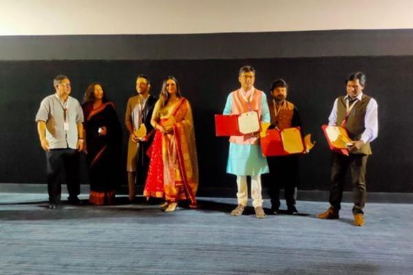 IFFI-র মঞ্চে 'ব্রহ্মা জানেন গোপন কম্মটি', উপস্থিত ছিল গোটা টিম