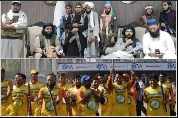 আফগানিস্তান ক্রিকেটের অফিসে বন্দুক হাতে তালিবানরা,পথ দেখালেন রশিদ খানের এই বন্ধু