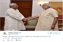 PM મોદી સાથે નીતિશ કુમારે યોજી મુલાકાત, અડધો કલાક સુધી ચાલી વાતચીત