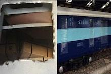 ચાલતી ટ્રેનમાં કાપી ડબ્બાની છત, ફિલ્મી સ્ટાઇલથી લૂંટ્યો સરકારી ખજાનો