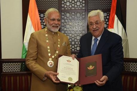 PM મોદીને પેલેસ્ટાઇને આપ્યું સર્વોચ્ચ સન્માન