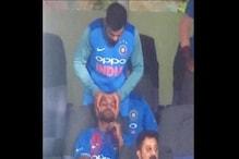 IND Vs SA : કેપ્ટન દબાવી રહ્યો છે ગબ્બરનું માથું, જુઓ વાયરલ વીડિયો
