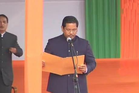 મેઘાલયમાં બની NDAની સરકાર, કોનરાડે લીધા CMનાં શપથ