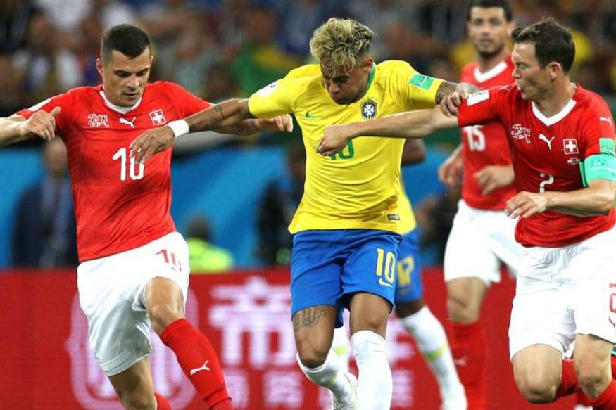 FIFA World Cup: સ્ટાર ખેલાડી નેમાર ફ્લોપ, સ્વિત્ઝર્લેન્ડ અને બ્રાઝિલની મેચ ડ્રો