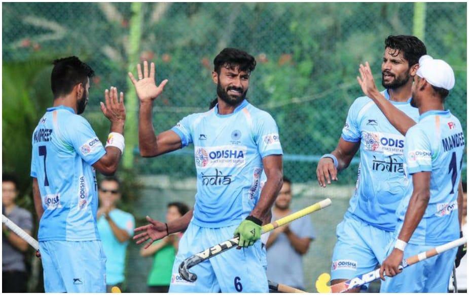 હોંગકોંગ સામેની મેચમાં ભારતના 4 ખેલાડીઓએ હેટ્રિક ફટકારી હતી.