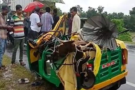 ખેડા: કઠલાલ રોડ પાસે અકસ્માતમાં પાંચ લોકોના કમકમાટી ભર્યા મોત
