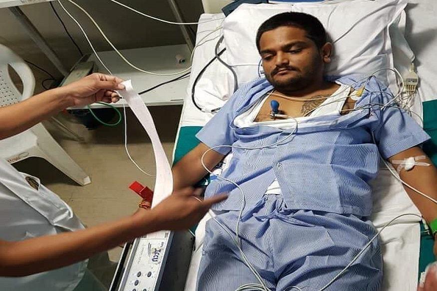 Hardik patel in sola civil hospital