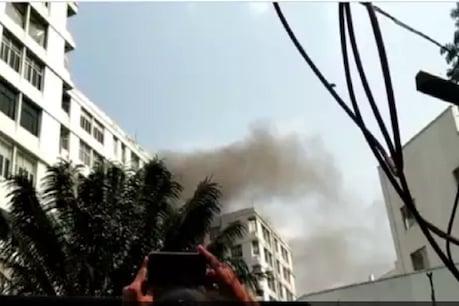 કોલકાતાના પાર્ક સ્ટ્રીટ પર બહુમાળી ઇમારતમાં ભીષણ આગ