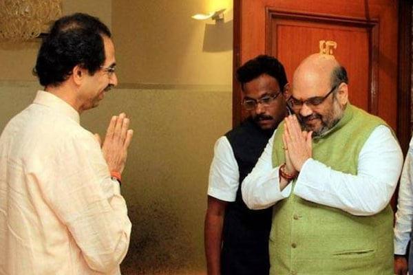 BJPથી નારાજ શિવસેના, અમિત શાહને કરી મંત્રાલય બદલવાની માંગ