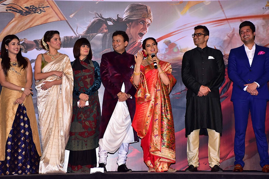 ટીમ મણિકર્ણિકા (Image: Viral Bhayani)