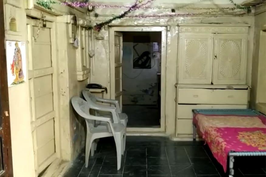 હાજાપર ખાતે આવેલું જયંતિ ભાનુશાળીનું ઘર