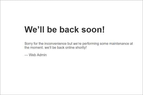 બીજેપીની વેબસાઇટ હૅક, પાર્ટીએ લખ્યું, 'We Will Be Back Soon'