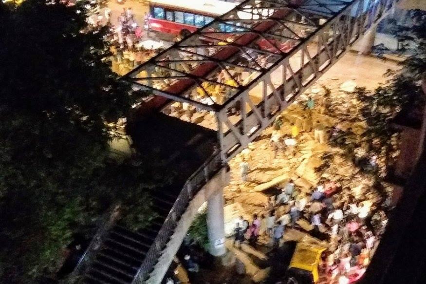 મુંબઈના સીએસટી રેલવે સ્ટેશન પાસે ફૂટ ઓવર બ્રિજ ધરાશાયી થયો છે. જેમાં 3 લોકોના મોત થયા છે. જ્યારે 34થી વધારે લોકો ઈજાગ્રસ્ત થયા છે.