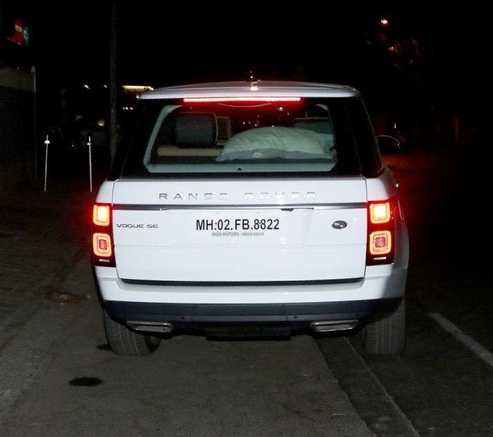 કેટરિના કૈફની લેટેસ્ટ કારની તસવીરો સોશિયલ મીડિયા પર વાઇરલ છે. (Photo- Yogen Shah)