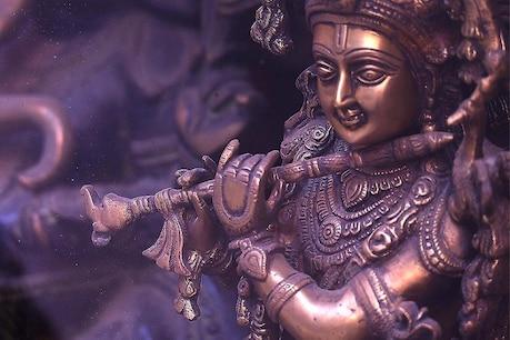 અહીં છે ભગવાન શ્રીકૃષ્ણના અસલી પદચિન્હ, કરો Videoથી દર્શન