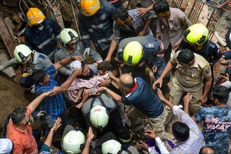 મુંબઈ બિલ્ડિંગ દુર્ઘટના : હજુ કાટમાળ નીચે અનેક દબાયા હોવાની આશંકા, 14નાં મોત