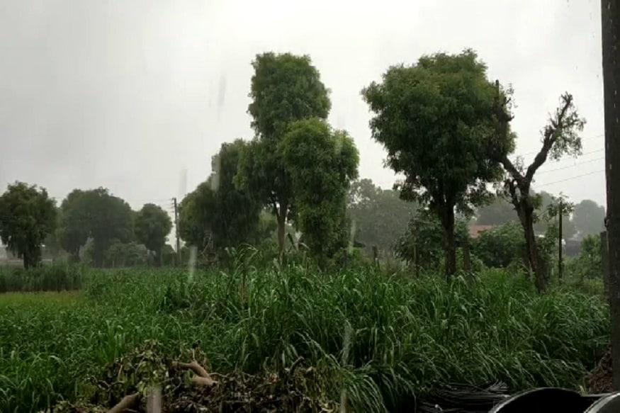 મળતા આંકડાઓ પ્રમાણે ઉત્તર ગુજરાતના વડનગરમાં 30mm, ઇડર 28mm, ભિલોડા 27mm, વિસનગર 26mm, વાવ 25mm, પોસિના 22mm, ખેરાલુ 20mm,ઊંઝા 19mm વરસાદ નોંધાયો છે.