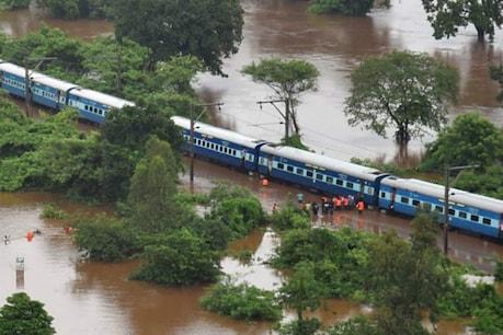 ગુજરાતને જોડતો રેલ વ્યવહાર ઠપ્પ, લાંબા અંતરની મોટાભાગની ટ્રેન રદ