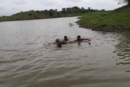 ભાવનગરઃ નાગધણીબા પાસે તળાવમાં ન્હાવા પડેલા ત્રણ યુવકો ડૂબ્યા, એકનું મોત