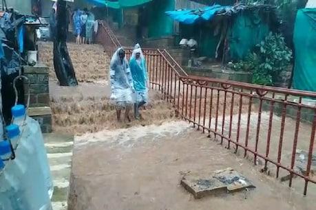 પંચમહાલમાં ભારે વરસાદ, પાવાગઢ ડુંગર પરથી વહેતા પાણીમાં લોકોએ સેલ્ફીઓ લીધી