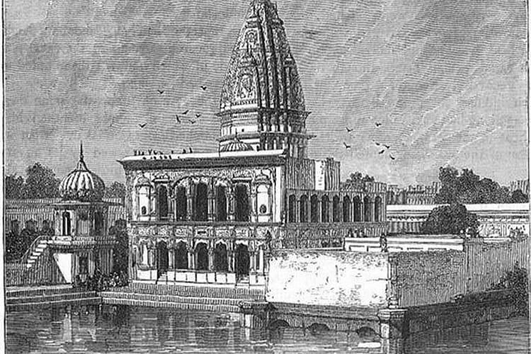 1891માં રતન ચાંદનું મંદિર.