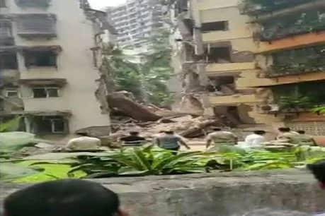 મુંબઈમાં 5 માળના બિલ્ડિંગનો કેટલોક ભાગ ધરાશાયી, કાટમાળમાં 10 વર્ષની બાળકી ફસાઈ