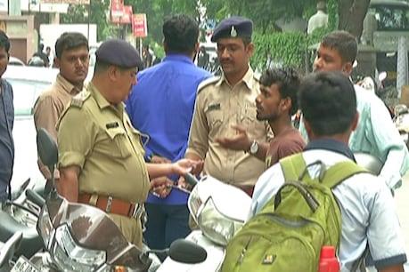અમદાવાદ : સગીર ચાલકો સામે ડ્રાઇવ દરમિયાન પોલીસ-વિદ્યાર્થીઓ વચ્ચે ઘર્ષણ