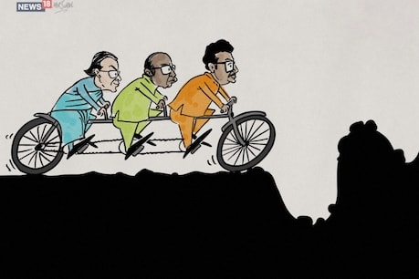 હિન્દુત્વ, ભીમા-કોરેગાંવ અને સાવરકર : શિવસેના-કૉંગ્રેસ-NCPની આ ત્રણ પૈડાની સરકારના માર્ગમાં અનેક અડચણો