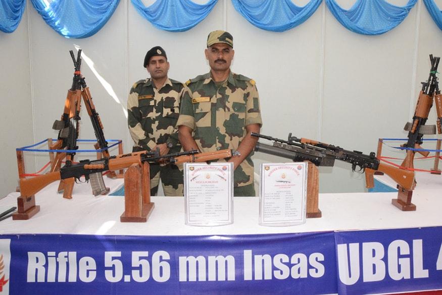 ગુજરાત પોલીસ વતી રાજકોટ શહેર પોલીસ દ્વારા ભારત દેશના વિવિધ ફોર્સ-યુનિટ જેવા કે ARMY, BSF, AIRFORCE, CRPF, ગુજરાત પોલીસ વગેરેના અતિઆધુનિક હથિયારોનું પ્રદર્શન યોજવામાં આવ્યું છે.