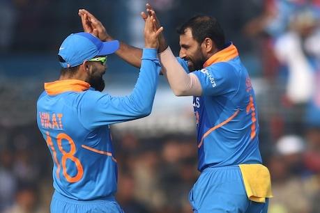 બીજી વન-ડે : રાજકોટમાં ભારતનો 36 રને વિજય, શ્રેણી 1-1થી સરભર