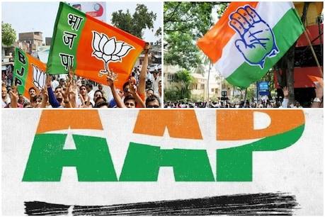 દિલ્હીમાં AAP 54-60 બેઠક જીતી શકે, બીજેપીનાં ખાતામાં 10-14 બેઠક : ટાઇમ્સ નાઉ પોલ
