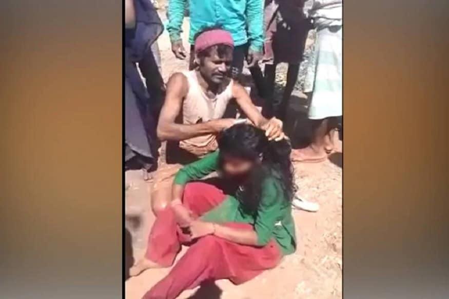 મધ્ય પ્રદેશના (Madhya pradesh) આદિવાસી બહુલ અલીરાજપુર જિલ્લામાં એક સગીર કિશોરી સાથે તેમના જ પરિવારજનો દ્વારા બર્બરતાનો કિસ્સો સામે આવ્યો છે. આ ઘટના 25 ફેબ્રુઆરીની છે. પરંતુ વીડિયો વાયરલ (Video) થયા બાદ 27 ફેબ્રુઆરીએ પીડિતા તરફથી FIR નોંધાવામાં આવી છે.