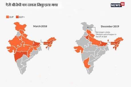 બે વર્ષમાં NDAએ 6 રાજ્યોમાં સત્તા ગુમાવી, દિલ્હીએ વધાર્યું બીજેપીનું ટેન્શન