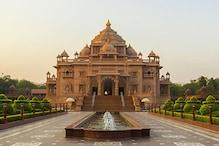 ગાંધીનગર : અક્ષરધામ ખાતે માત્ર મંદિરના દર્શન સિવાય તમામ પ્રદર્શનો બંધ રાખવાનો નિર્ણય