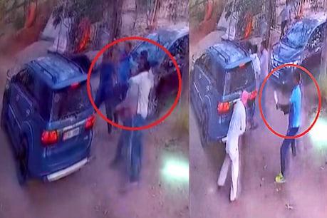 ગાંધીનગર : ધોળે દિવસે તલવાર-ચાકૂની અણીએ ચેનલના વ્યવસાયીનું અપહરણ, CCTVમાં ઘટના કેદ